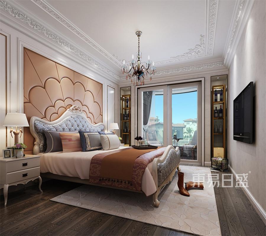 頤和天成400平後現代別墅公主房裝修效果圖欣賞