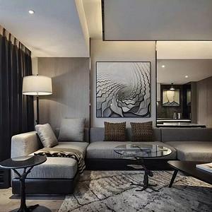 阿曼寓所-现代简约-70平米