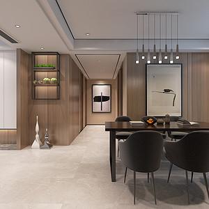 东润泰和现代极简风格餐厅