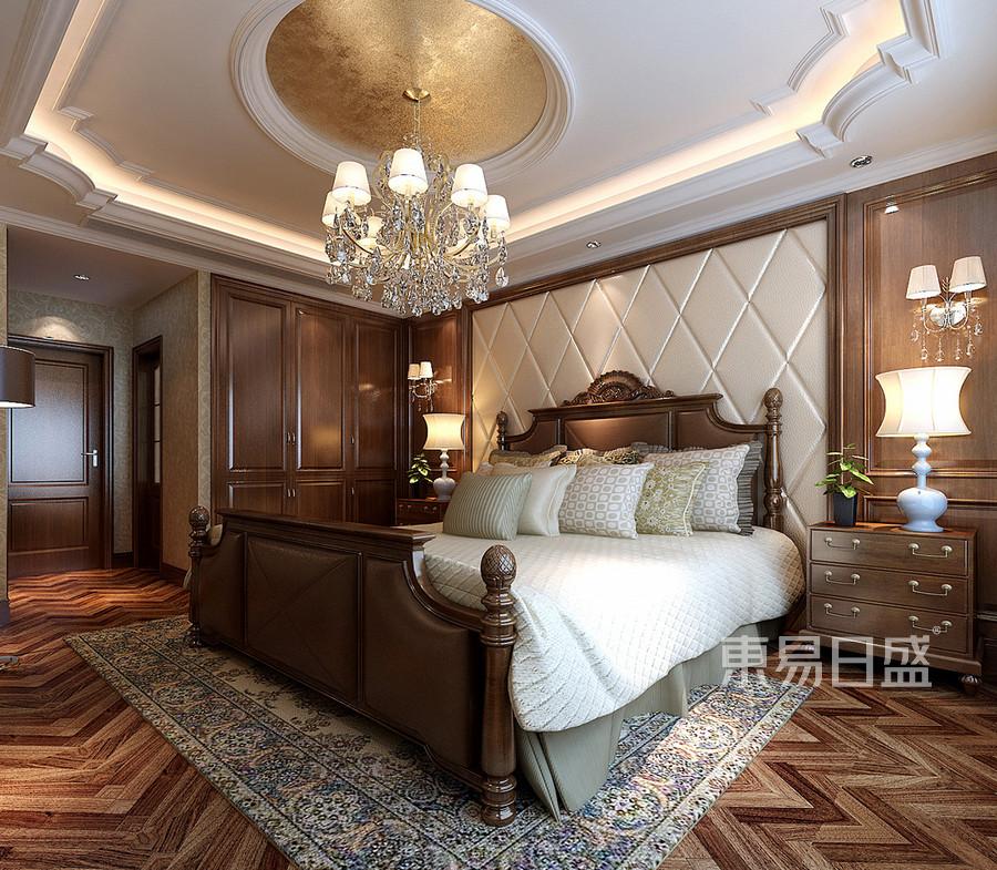 卧室欧式装修效果图四室二厅一卫一厨