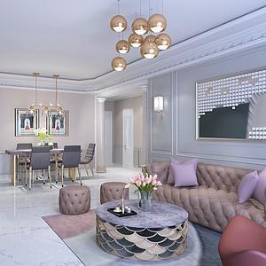 现代轻奢风格-客厅-装修效果图-第30页 成都客厅装饰效果图 成都客厅