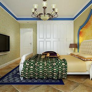 时代康桥-卧室装修效果图