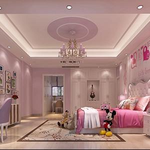 新中式风格儿童房装修效果图 别墅装饰