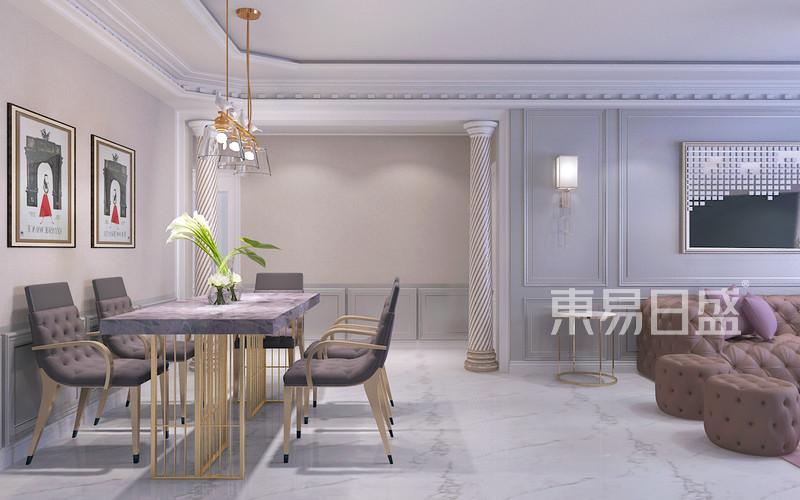 其他- 现代轻奢风格-餐厅-装修效果图