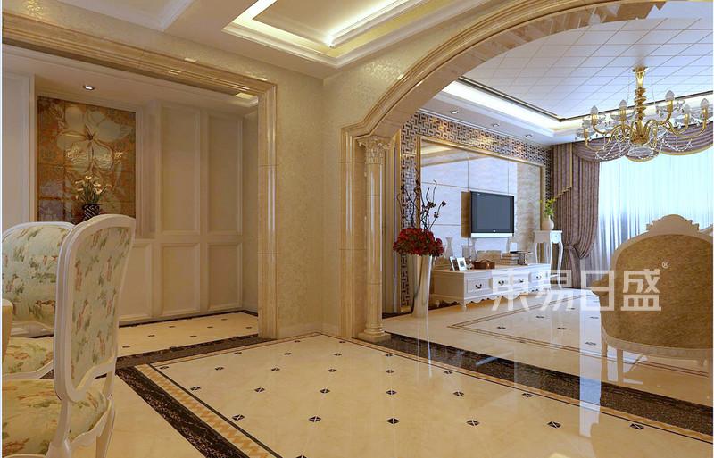 欧式古典 - 过道卧室欧式装修效果图 四室二厅两卫图片