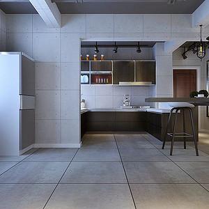 宝龙广场-厨房装修效果图