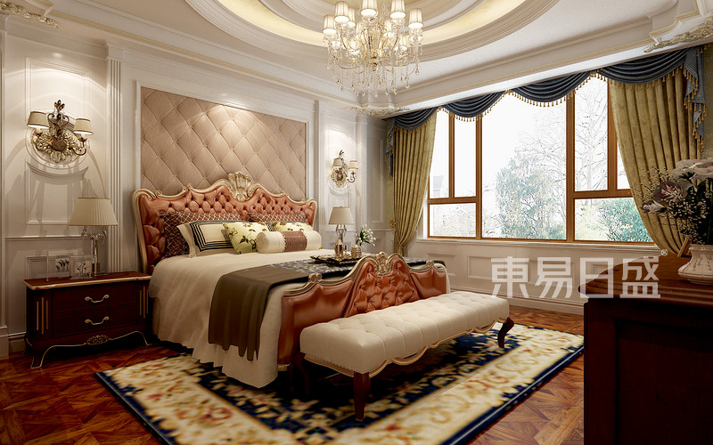 后奢华风格-卧室-装修效果图