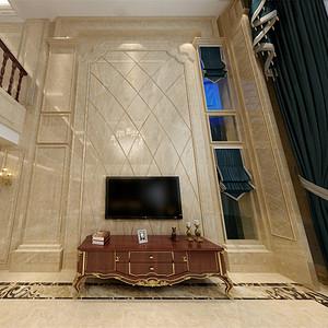 简欧风格客厅电视机背景墙
