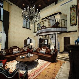 南郊别墅-西班牙复古风格-450平米