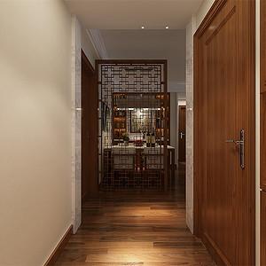 新中式-入户门厅
