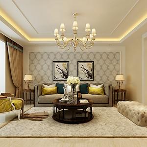 玉龙小区155平米三室二厅简欧风格装修案例