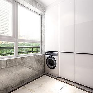现代简约-洗衣阳台
