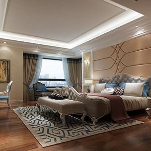 现代前卫卧室装修效果图 别墅设计