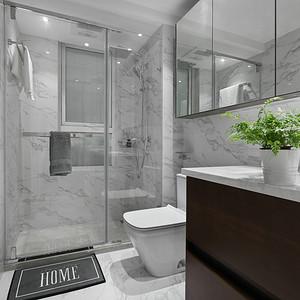 壹方中心玖誉-新中式-浴室装修效果图