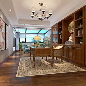 现代前卫 书房装修效果图 别墅设计