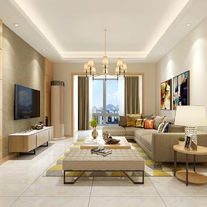 翡翠城顶跃230平米现代风格设计