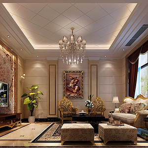 现代前卫 客厅装修效果图 别墅设计