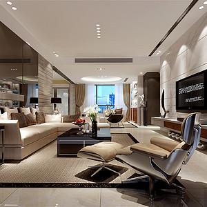 城南华府160㎡四居室现代简约风格