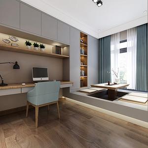 新中式风格茶室装修设计