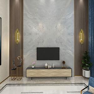 现代简约风格客厅装饰效果图_别墅