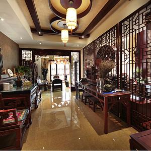 金色池塘180平方中式风格装修