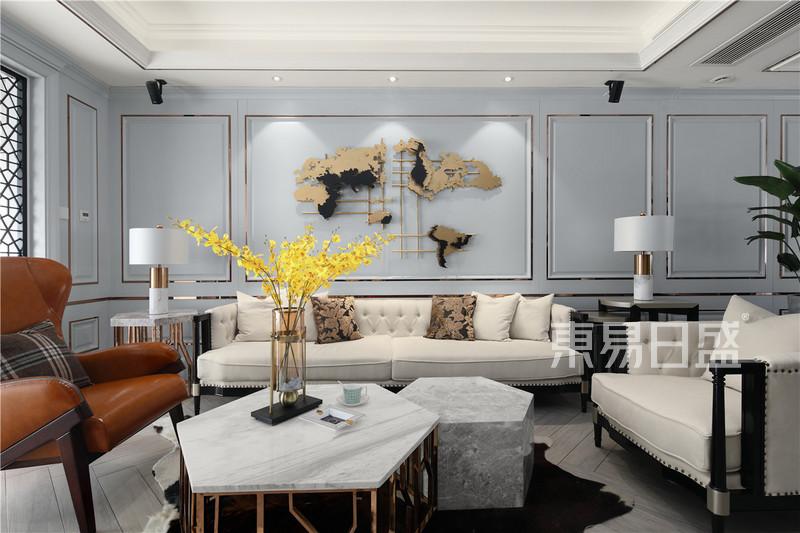 其他- 美式轻奢风格客厅装修图片