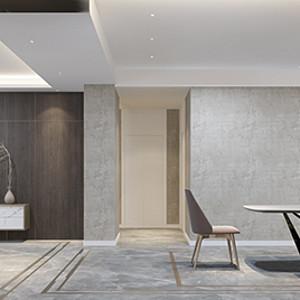 国熙台 现代简约装修效果图 三室两厅 220㎡