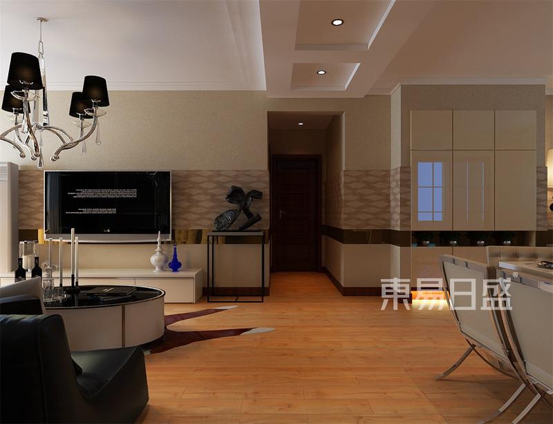 振业城中央现代简约风格走廊装修效果图
