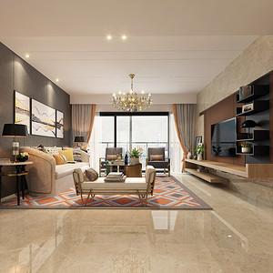 博林天瑞 四居室 212平米 现代简约装修风格
