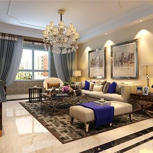 后现代风格--客厅