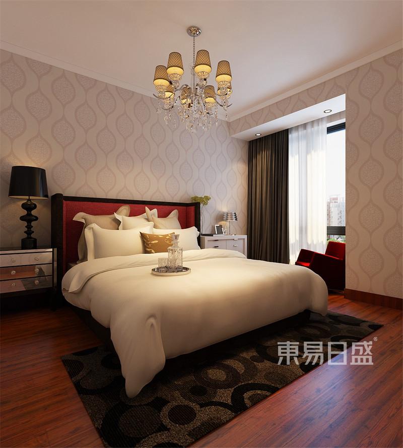 振业城中央现代简约风格卧室装修效果图