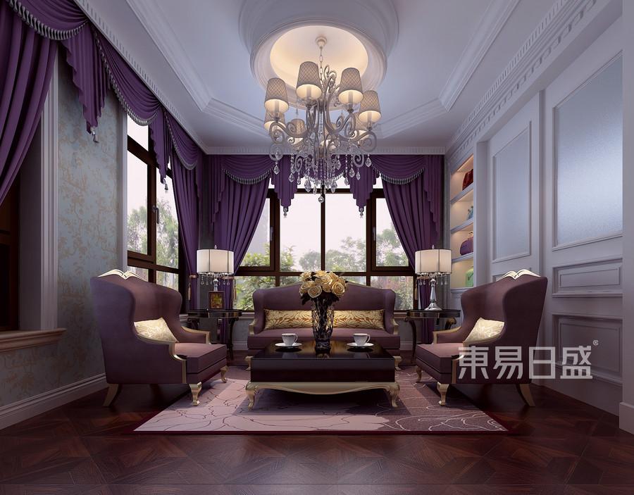 新中式风格装修效果图