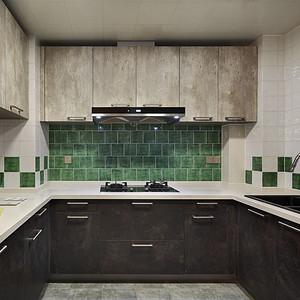 保利达江湾城新古典厨房
