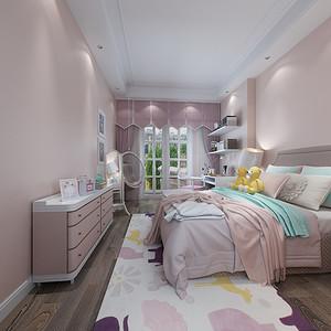 现代简约 儿童房装修效果图 别墅装饰