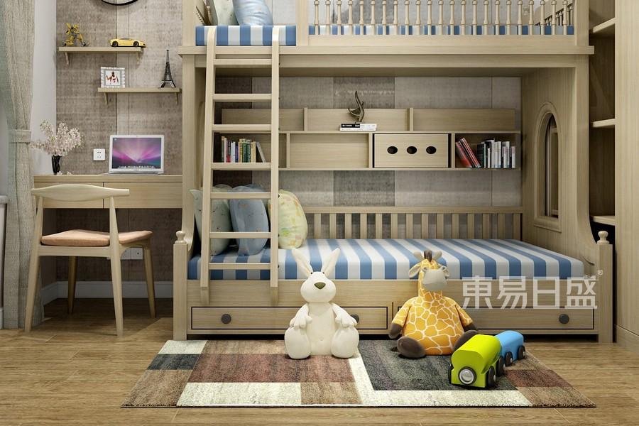 自然风格儿童房装修设计