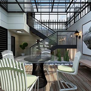 现代简约-阳台