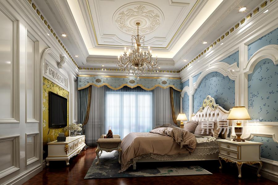 卧室-法式-效果图