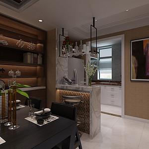 玲珑别墅现代风格客厅装修效果图