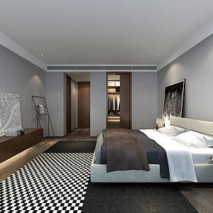 复地金融岛226㎡四居室现代风格