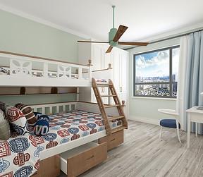 北欧风格卧室效果图