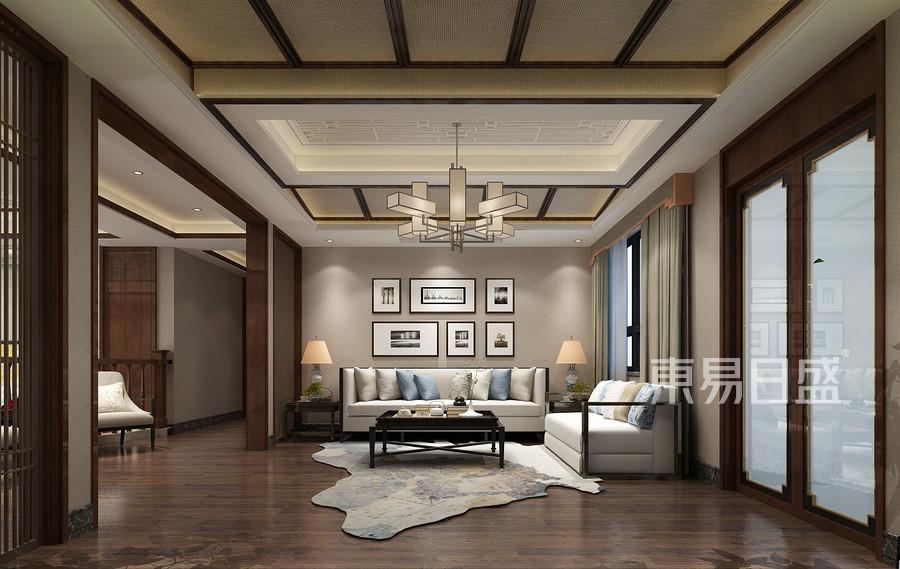 新中式风格会客室装修设计