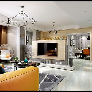 客厅石材地台既具有装饰性的作用