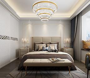半山悦海花园-简欧风格-卧室效果图