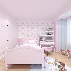 旺海公府北欧风格儿童房装修效果图