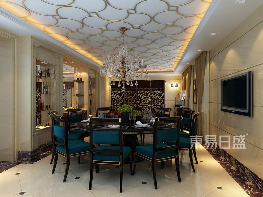 黄山墅-欧式古典-餐厅