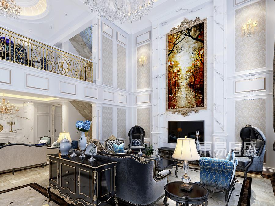 法式风格 客厅 崇尚冲突之美