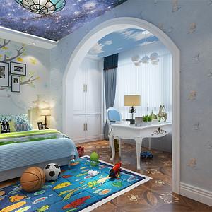 欧式古典-儿童房