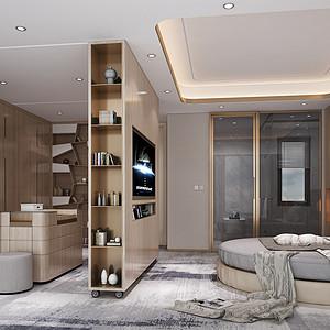 领航城-现代风格-卧室装修效果图