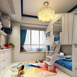 美式风格小孩房装修效果图