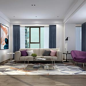 麓湖麒麟荟190㎡四居室现代风格